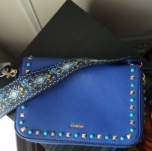 Bebe rockstud purse Blue excellent condition